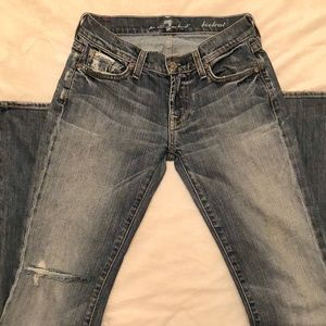 Like New 7 for All Mankind Jeans Size 25